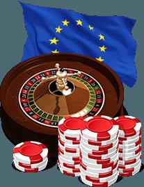 Europese roulette spelen
